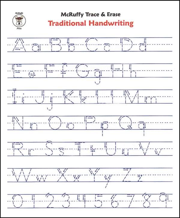42 Educative Letter Tracing Worksheets | KittyBabyLove.com