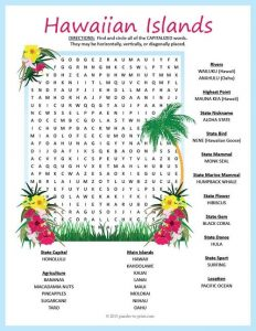Word Search Islands