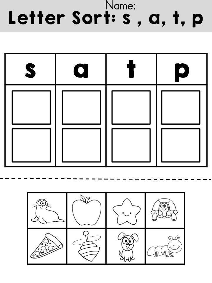 30 Beginning Sounds Worksheets for Little Ones ...