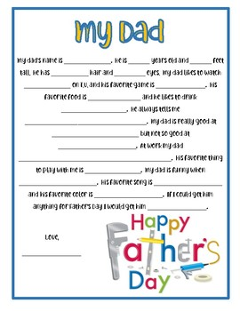 image regarding Father's Day Questionnaire Free Printable known as 14 Lovely Fathers Working day Questionnaires
