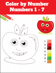 Math Food Color By Number
