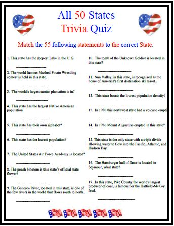 photo about 4th of July Trivia Printable identify 18 Insightful 4th of July Trivia