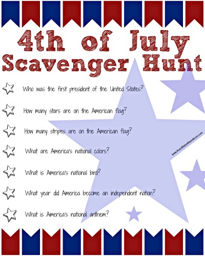 18 Informative 4th of July Trivia   KittyBabyLove com