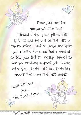 Personalized-Tooth-Fairy-Letter  St Tooth Fairy Letter Free Printable Templates on