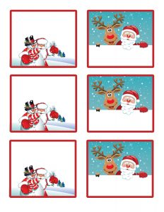 Secret Santa Gift Tags Free Printables