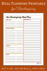 Thanksgiving Meal Planning Guide