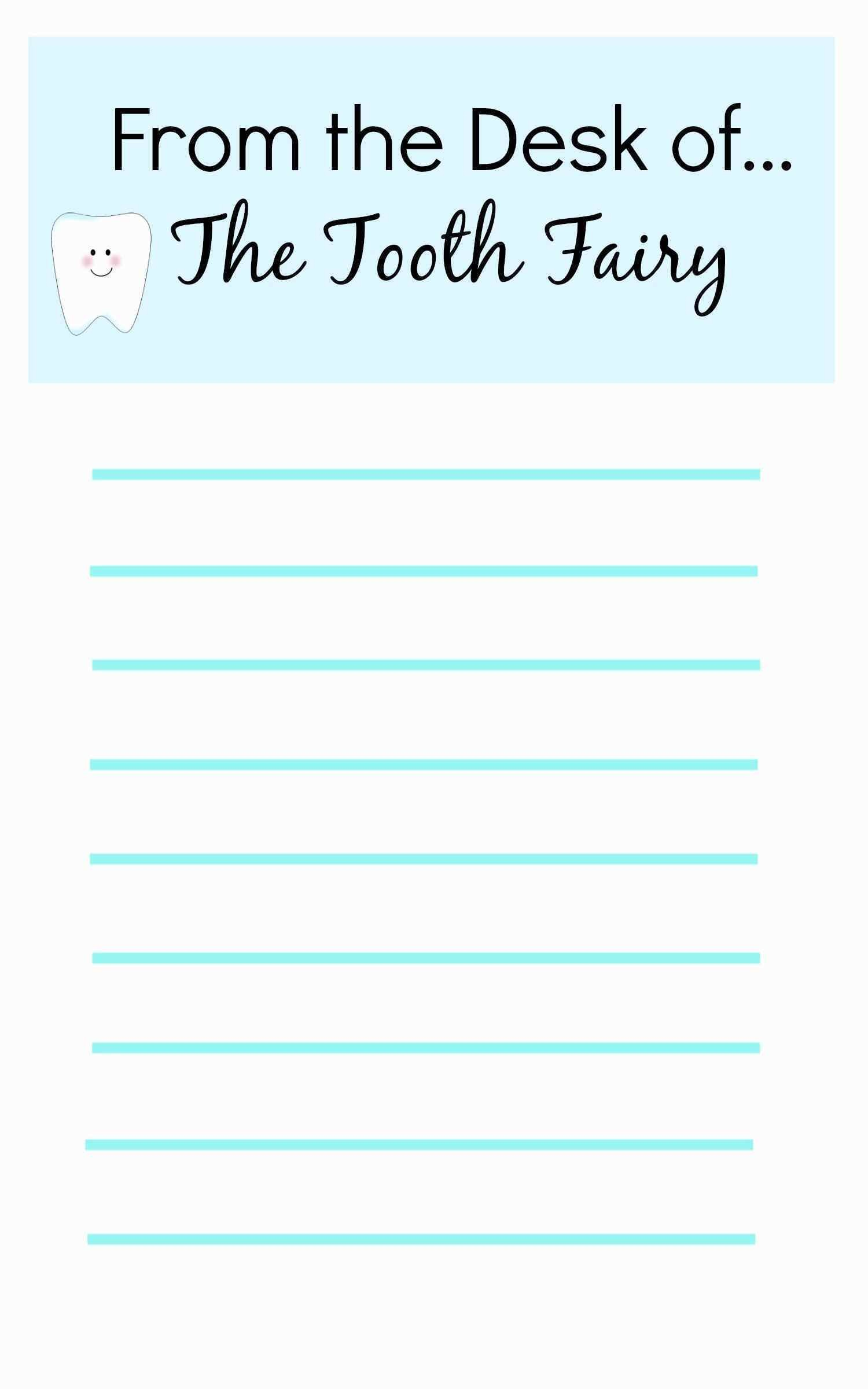 It is a photo of Critical Tooth Fairy Stationary