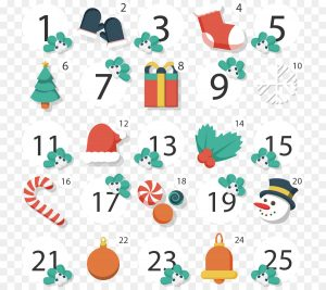 Christmas Advent Countdown Calendar