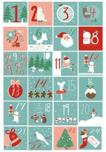 Christmas Countdown Calendar Free Printable