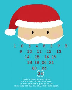 Christmas Countdown Calendar Printable