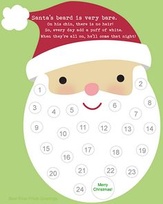 Christmas Countdown Calendar for Kids