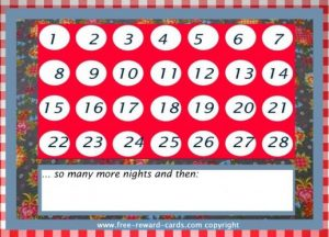 Kids Birthday Countdown Calendar