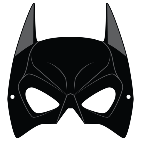 Printable Batman Mask for Adults