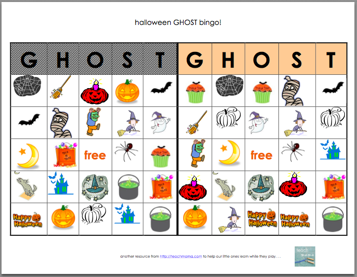image about Free Printable Halloween Bingo Cards referred to as 21 Eerily Fascinating Halloween Bingo Playing cards