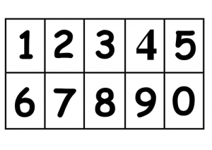 Printable Number Cards