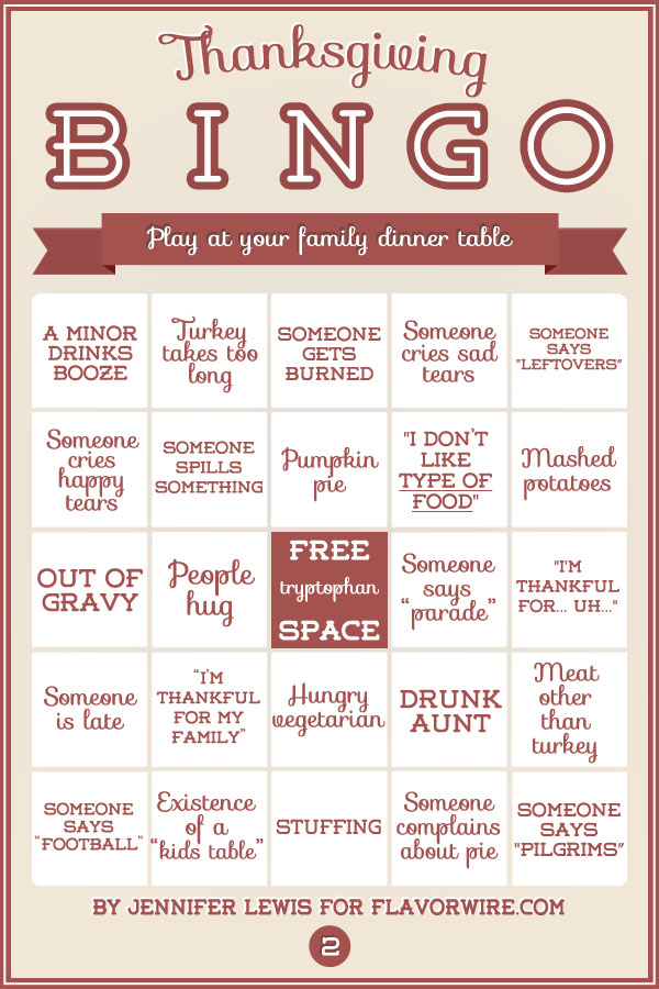 photo relating to Printable Thanksgiving Games referred to as 32 Excellent Thanksgiving Bingo