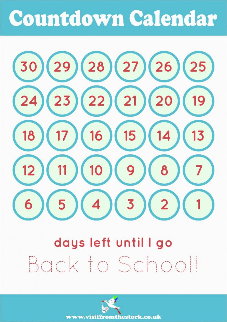 image relating to Vacation Countdown Calendar Printable known as 13 Fantastic Holiday Countdown Calendars