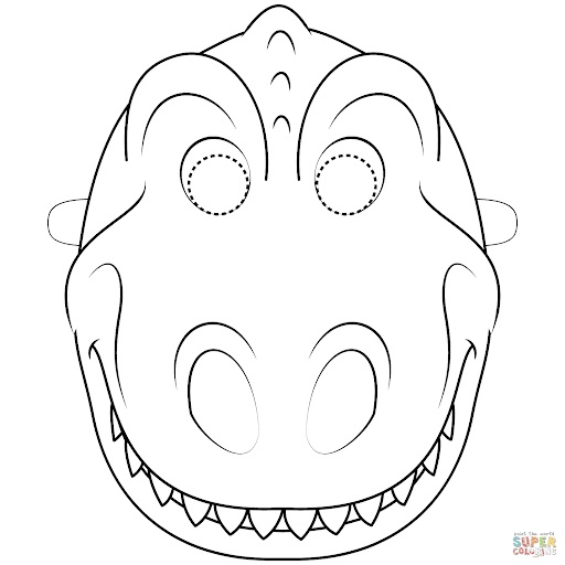 Dinosaur Mask Printable