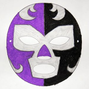 Luchador Mask Template Picture