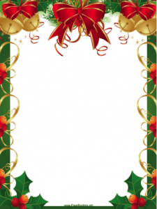 Printable Christmas Border