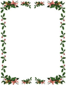 Christmas Themed Borders