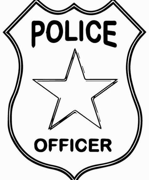 14 Smart Police Badge Templates Kittybabylove Com
