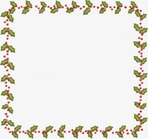 Simple Christmas Border