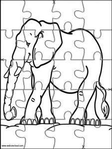 Animal Jigsaw Puzzles Printable