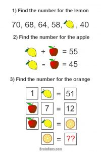 Easy Math Logic Puzzles