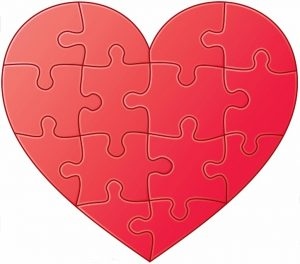 Heart Jigsaw Puzzle Printable