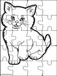 Jigsaw Puzzle Worksheets Printable