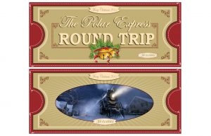 Polar Express Round Trip Ticket Printable