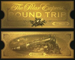 Polar Express Ticket Printable