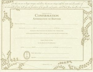 Baptism Certificate Images