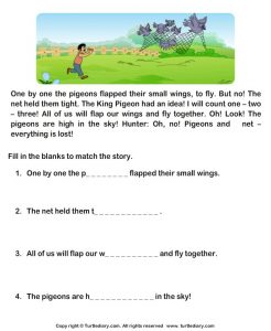 Fill in the Blank Stories for 1st Grade