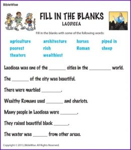 Fill in the Blank Stories for Kids