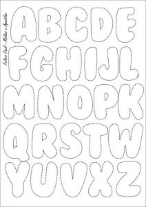 20 Cute Printable Bubble Letters | KittyBabyLove.com