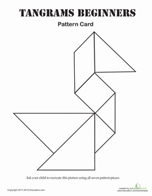 Difficult Tangram Puzzles Printable