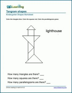 Easy Printable Tangram Puzzles