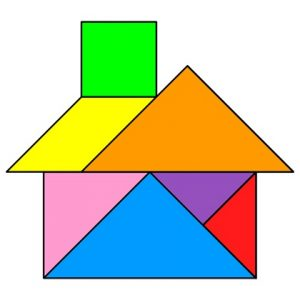 Easy Tangram Puzzles for Kids