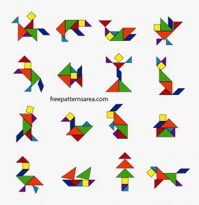 Pictures of Tangram Shapes