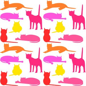 Printable Cat Wrapping Paper