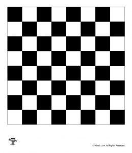 Printable Chess Board Picture