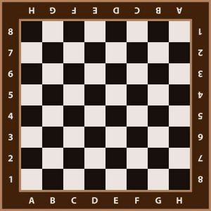 Printable Chess Board Template