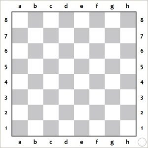 Printable Chess Board with Pieces