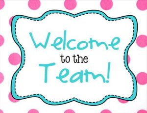 Printable Welcome to the Team Sign