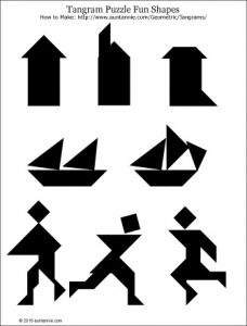 Shapes Puzzle Tangram