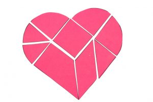 Tangram Heart Puzzle