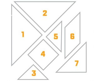 Tangram Puzzles for Adults